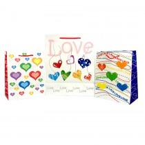 Bolsa para regalo pequeña (amor) por unidad