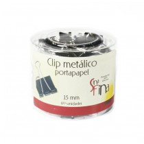 Clip Portapapel 15 Mm