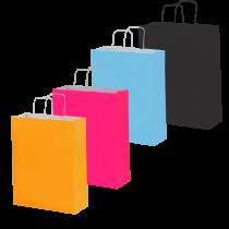 Bolsa Kraft Colores (Pequeña)
