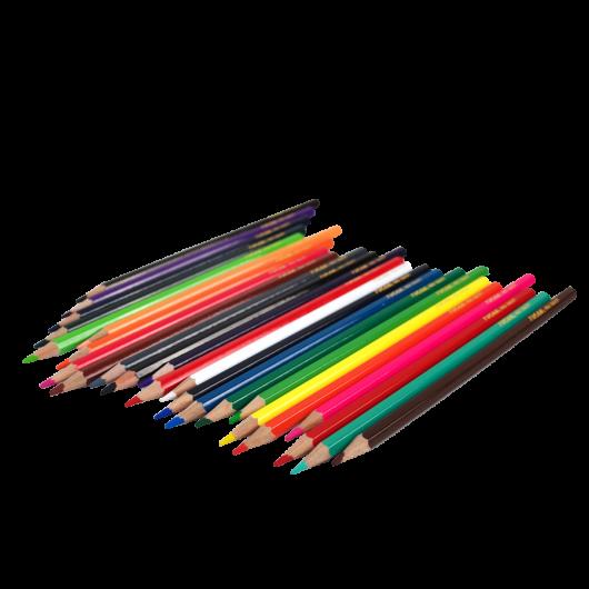 Crayon de Madera Alta Calida (24 Colores)